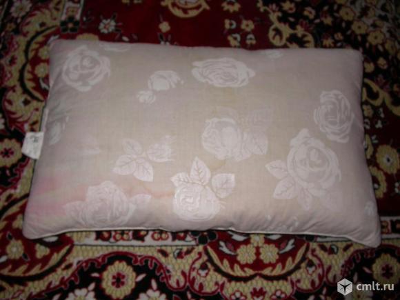 Подушки детские самодельные, наполнитель - куриное перо и. Фото 6.