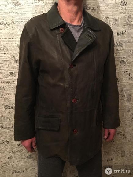 Куртка кожаная мужская Senator Collection. Фото 1.