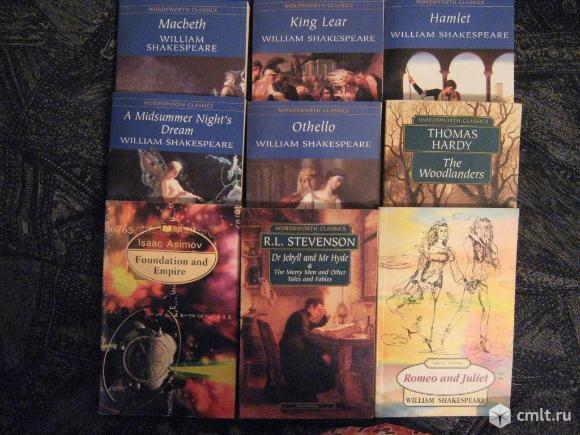Книги на английском языке. Фото 1.