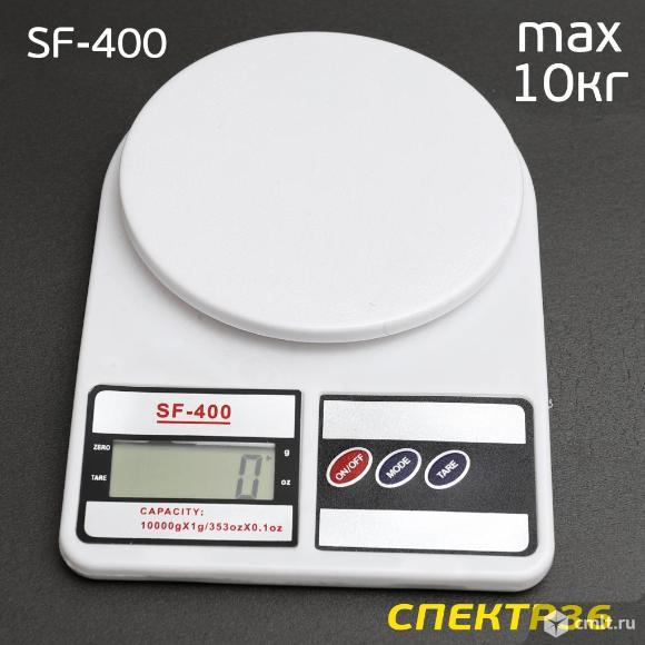 Весы автомалярные SF-400 (0-10кг) цифровые. Фото 1.