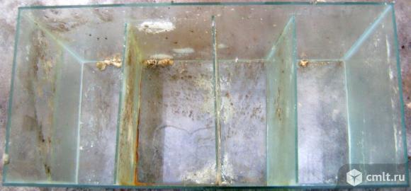 Аквариум, фильтр-компрессор, камни. Фото 1.