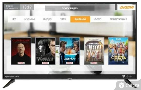 """43""""Телевизор Digma /Smart /Ultra HD (4K). Фото 1."""