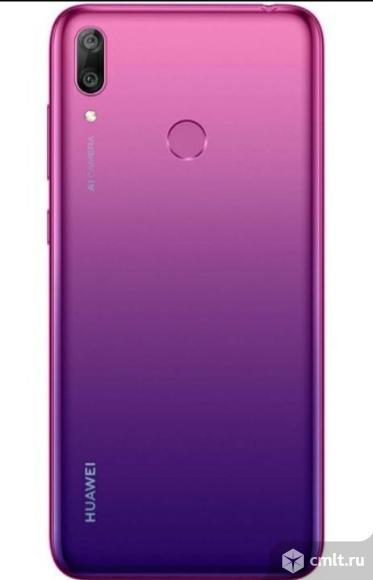 "Новый гарантия год 6,26"" Смартфон Huawei Y7 4/64GB Purple. Фото 2."