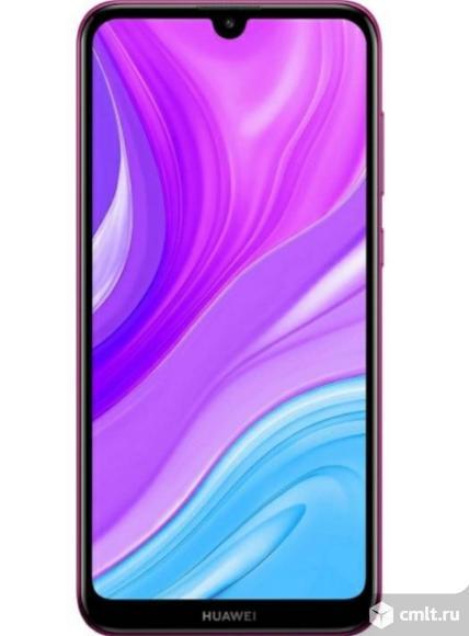 "Новый гарантия год 6,26"" Смартфон Huawei Y7 4/64GB Purple. Фото 1."