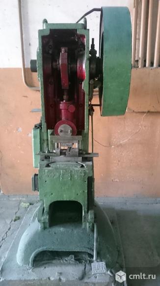 Пресс механический. Фото 2.