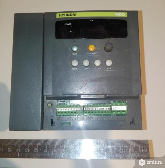 Частотный преобразователь HYUNDAI N100- 037HF 380V  3.7kWt. Фото 1.