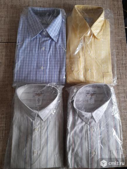 4 мужских рубашки в упаковке, производство Турция. Фото 1.