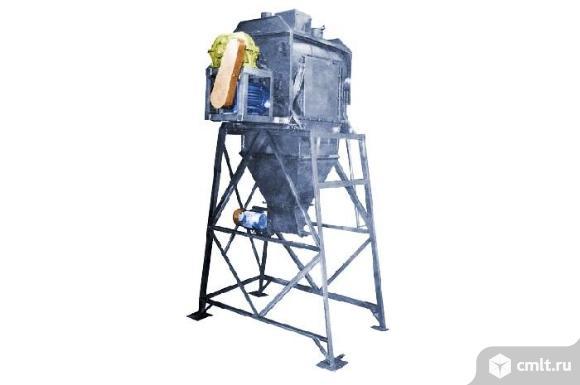 Смеситель сыпучих материалов ССВ-500/750. Фото 1.