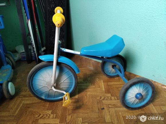 Трехколесный велосипед. Фото 1.