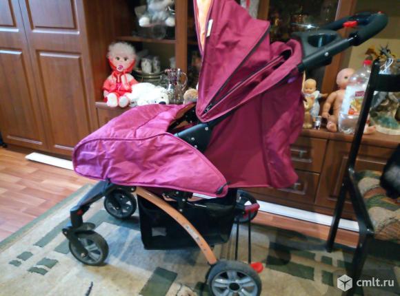 Продам  детскую  коляску. Фото 1.