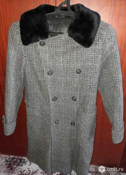 Пальто зимнее для мальчика - размер 146-68. Фото 1.