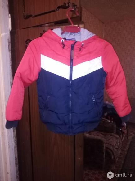 Куртка демисезон для мальчика 5-7 лет. Фото 1.