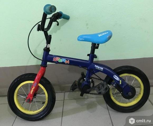 "Велосипед-Беговел детский Stern Kidster Transformer 12"". Фото 1."
