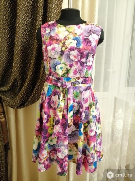 Нарядное летнее платье. Фото 1.