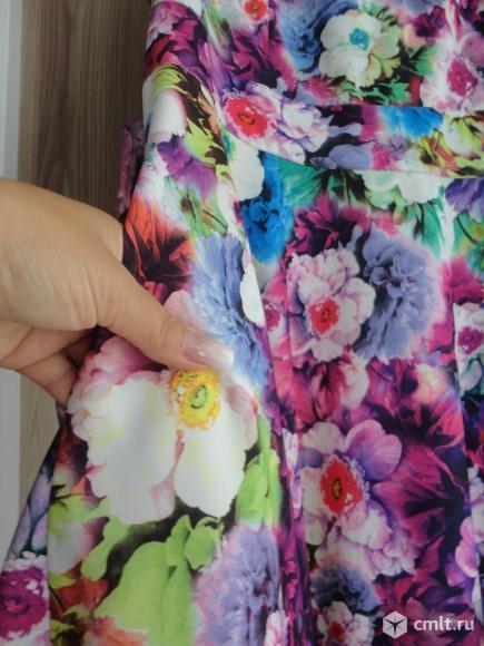 Нарядное летнее платье. Фото 4.