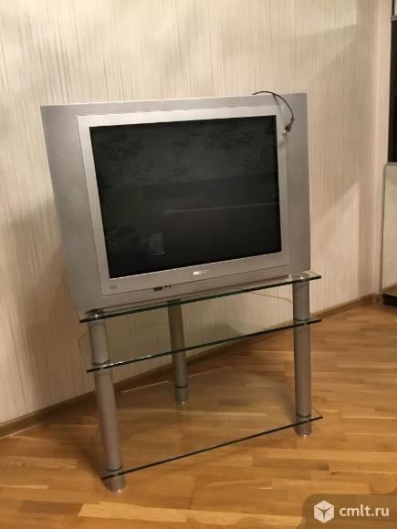 Телевизор кинескопный цв. Philips A68ERF042X044. Фото 1.
