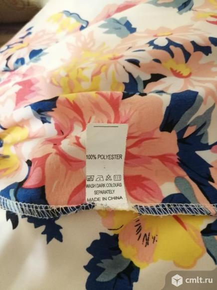Блузка с цветочным принтом. Фото 5.