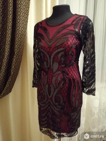 Шикарное платье на выход. Фото 1.