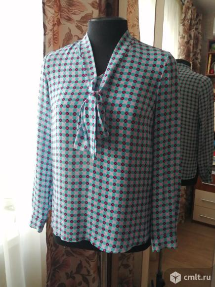 Стильная блузка-рубашка. Фото 1.