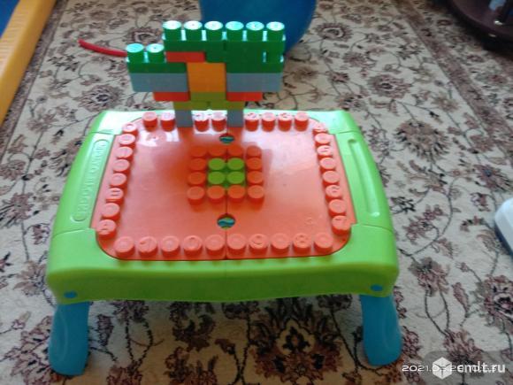 Столик с конструктором MOLTO BLOKS. Фото 2.