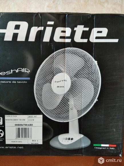 Настольный вентилятор Ariete 847. Фото 2.