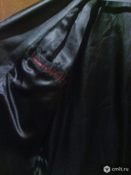 Мужской пиджак из натуральной кожи. Фото 2.