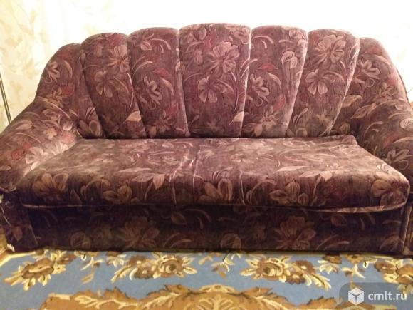 Продам диван и 2 кресла. Фото 1.