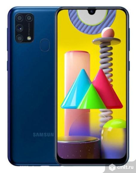 """Как новый гарантия 6,4""""смартфон Samsung Galaxy M31 6/128. Фото 1."""