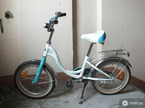 Велосипед для девочки в хорошем состоянии. Фото 2.