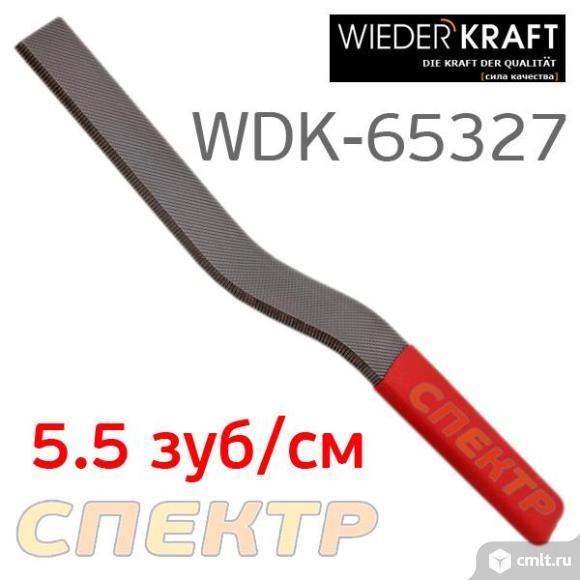 Кузовной напильник WDK крестовая насечка 5.5зуб/см. Фото 1.
