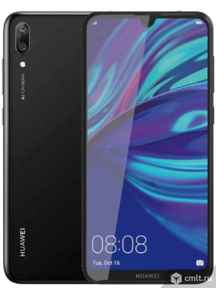 """Как новый гарантия 6.26"""" Смартфон Huawei Y7 4/64 ГБ. Фото 1."""