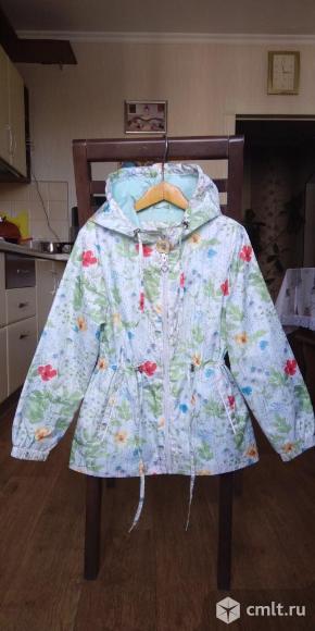 Куртка дождевик SELA на 8-10 лет. Фото 1.