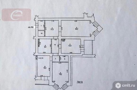 3-комнатная квартира 112,2 кв.м. Фото 1.
