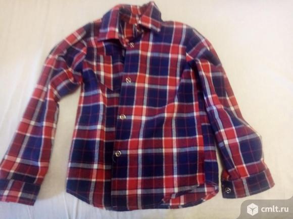 Рубашки, кофта и шапочка на мальчика 8-9. Фото 1.