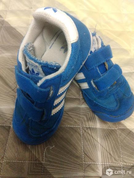 Детские кроссовки ADIDAS. Фото 1.