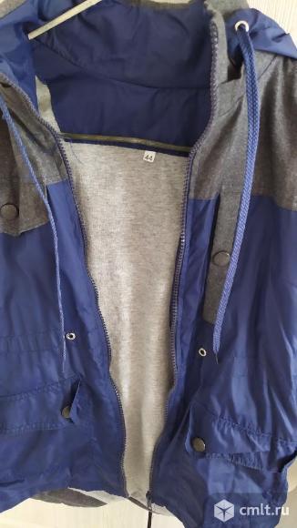 Осенняя  куртка (ветровка). Фото 3.