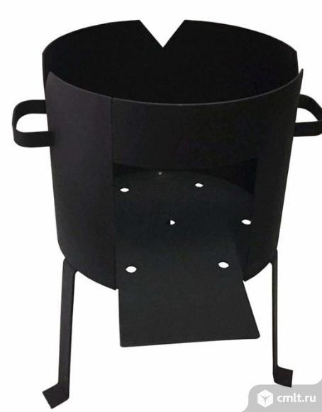 Печь под казан 8 литров. Фото 1.