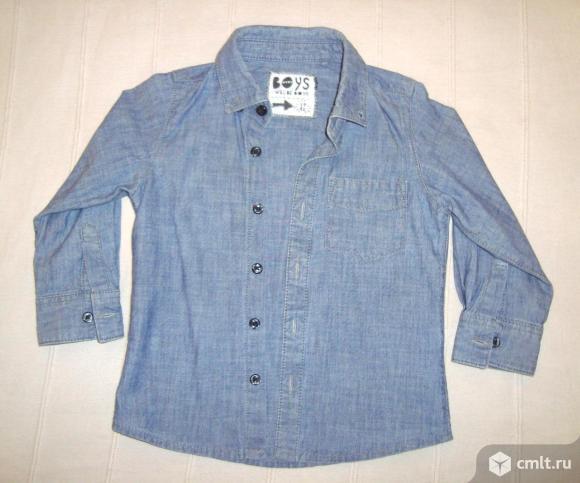 Рубашки + жилет, р. 86-92. Фото 1.
