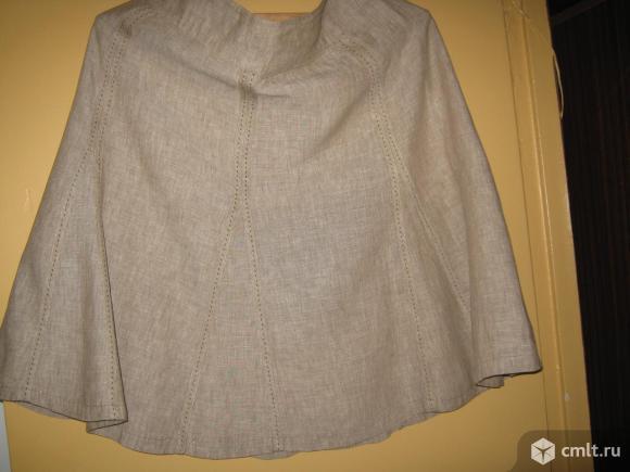 Льняная юбка. Фото 1.