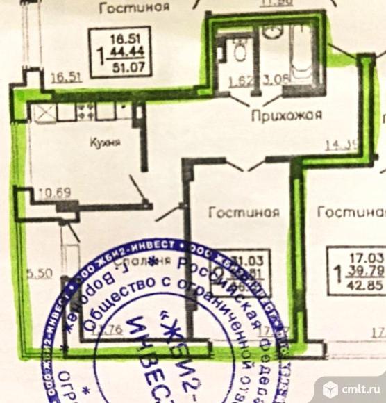 2-комнатная квартира 67,4 кв.м. Фото 18.