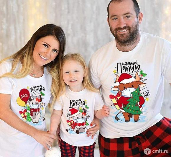 Семейные футболки. Фото 7.