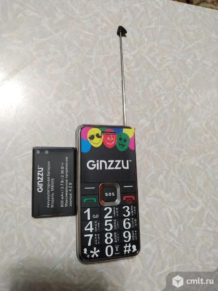 Телефон Ginzzu Mb505. Фото 1.