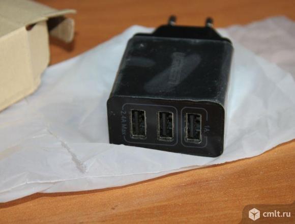 Зарядное устройство Ugreen 3 USB. Фото 2.