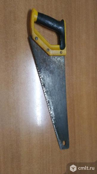 Ножовка по дереву. Фото 1.