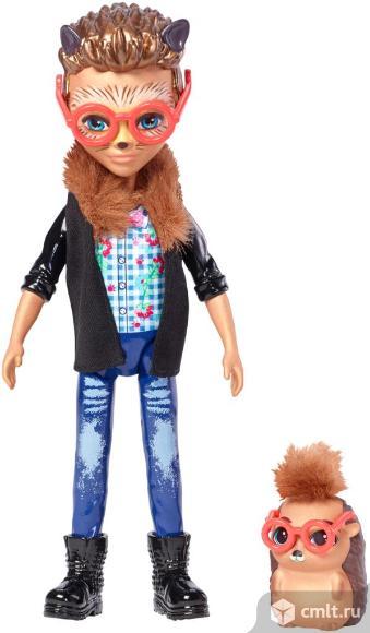 Enchantimals Игровой набор Кукла со зверюшкой. Фото 1.