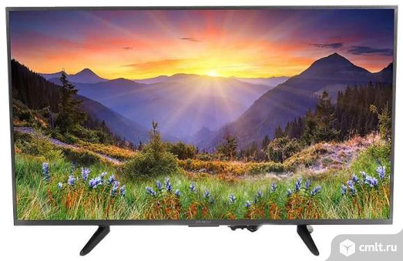 """Телевизор LED 43"""" (109 см) Digma Smart  Ultra HD. Фото 1."""