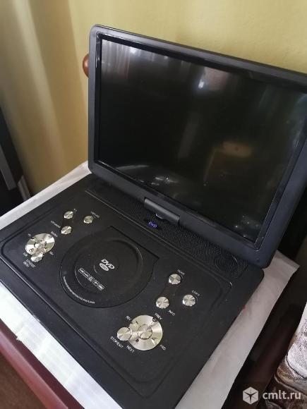 Телевизор ж/к LS-140T с функцией DVD портативный. Фото 2.