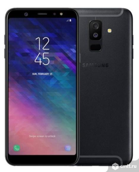 """Как новый гарантия 6"""" смартфон Samsung GALAXY A6+. Фото 1."""