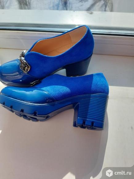 Туфли продаю по причине неподходящего размера. Фото 1.