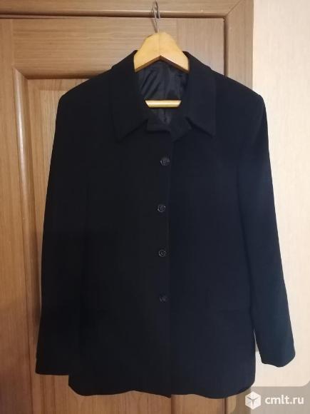 Пиджак черный. Фото 1.